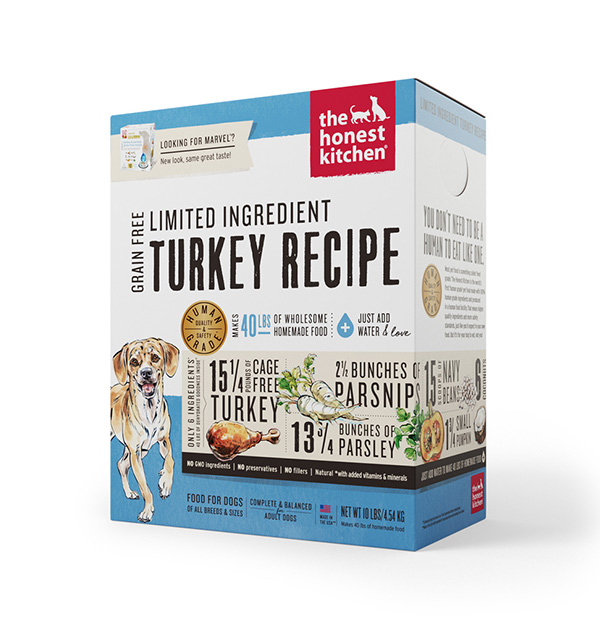 Limited Ingredient Turkey & Parsnip Recipe